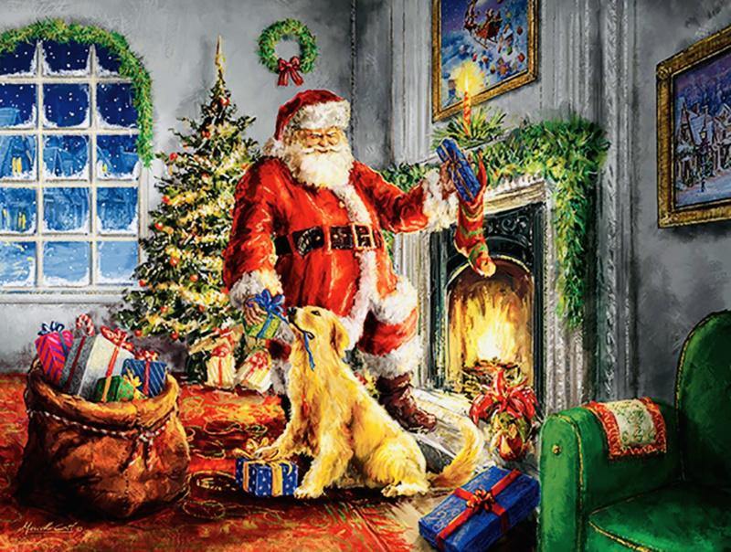 SunsOut 60620 - Helping Santa - 300xL stukjes