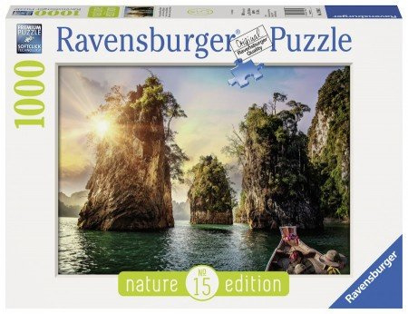 Ravensburger - Three Rocks in Cheow, Thailand - 1000 stukjes