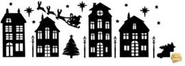 Raamsticker Kerst niet herbruikbaar