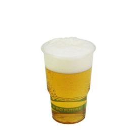 Bier/Fris beker 250cl  (Biologisch afbreekbaar!)