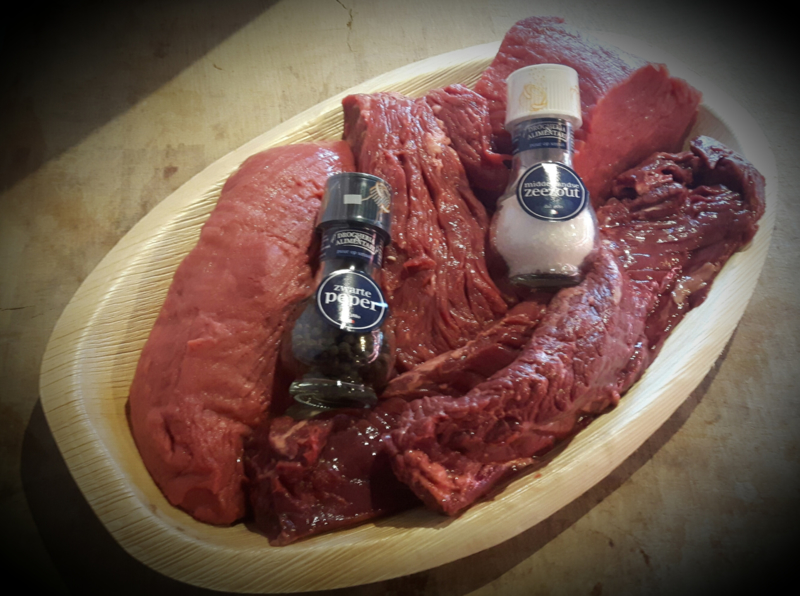 Vergeten steaks (4 á 5 personen)