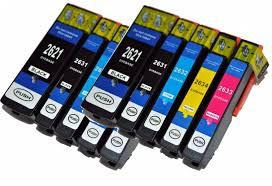 Huismerk Epson 26 XL/ T2621-T2631 t/m T2634 10 pack met chip