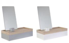Sieraden box met spiegel