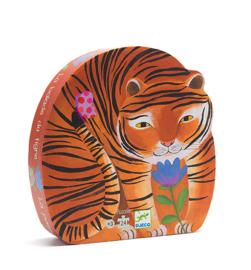 Djeco Silhouettepuzzel - De tocht van de tijger 24