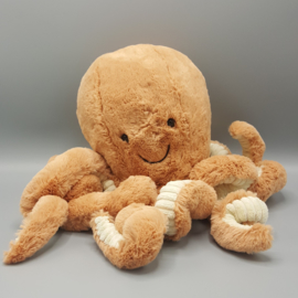 Jellycat Knuffel - Odell Octopus Medium