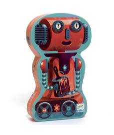 Djeco Silhouettepuzzel - Bob de robot 36