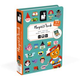 Janod - Magneti book - Sprookjes