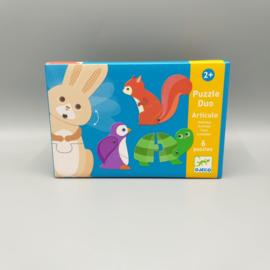 Djeco Puzzle Duo - Articulo 6 x 2