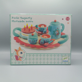 Djeco - Servies, fox tea party