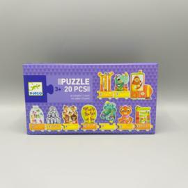 Djeco puzzle - I count 20