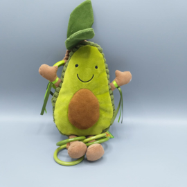 Jellycat - Avocado activity toy