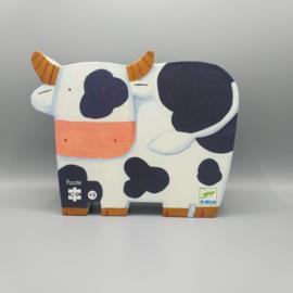 Djeco Silhouettepuzzel - De koeien op de boerderij 24