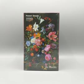 J. de Heem - Vaas met bloemen 1000