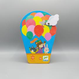 Djeco Silhouettepuzzel - Luchtballon 16