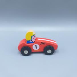 Houten speelauto €6,95