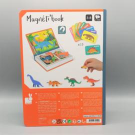 Janod - Magnetibook - Dinosaurussen