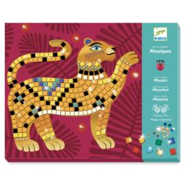 Djeco knutselpakket - Mozaiek Diep in de jungle