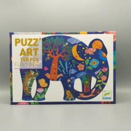 Djeco - Puzz'art elephant 150
