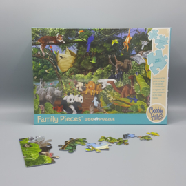 Family Puzzle - Birds of the World 400
