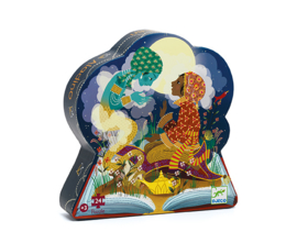 Djeco Silhouettepuzzel - Aladdin 24
