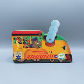 Djeco Silhouettepuzzel - Trein 16