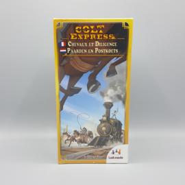 Ludonaute - Colt Express: Paarden en Postkoets
