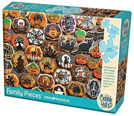 Cobble Hill - Familie Puzzel - Halloween Cookies 350