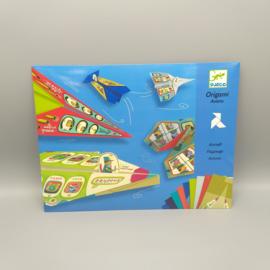 Djeco knutselpakket - Vliegtuigen vouwen