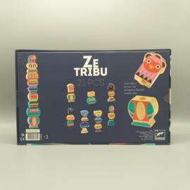 Djeco stapelblokken - Ze tribu