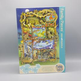 Cobble Hill Familie puzzel - Reptiles and Amphibians 350