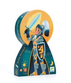 Djeco Silhouettepuzzel - Ridder van de volle maan 36
