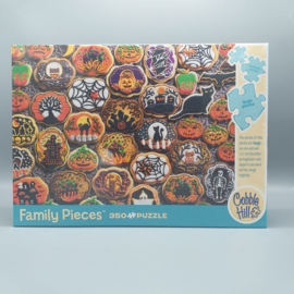Cobble Hill - Familie Puzzel - Halloween Cookies 350