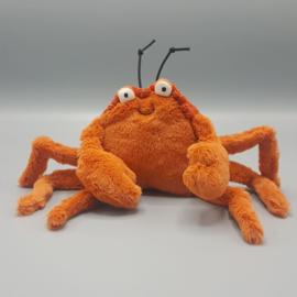 Jellycat Knuffel - Crispin crab small