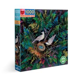 Eeboo - Birds in fern 1000