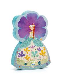 Djeco silhouettepuzzel - De prinses van de lente 36