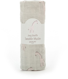 Jellycat Swaddle - Joey Giraffe