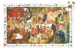 Djeco observatiepuzzel - Paardrijden 200