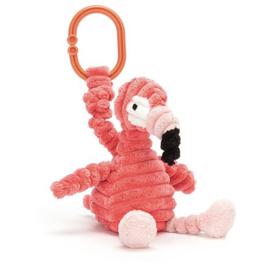 Jellycat -  Jitter Cordy Roy, Flamingo