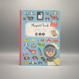 Janod - Magneti book - Kostuums blauw