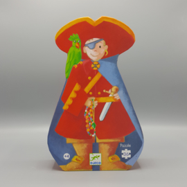 Djeco silhouet puzzel - De piraat en zijn schat 36