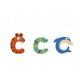 Scratch - Houten letters - C