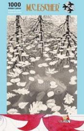 M.C. Escher - Drie werelden 1000