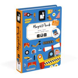 Janod - Magneti book - Racers