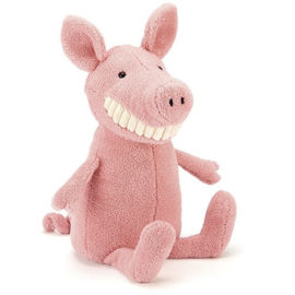 Jellycat Knuffel - Toothy Pig