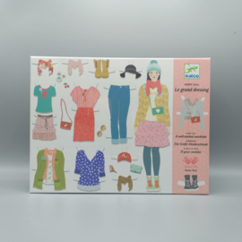 Djeco knutselpakket - Aankleedset Grand dressing