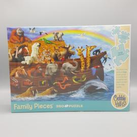 Cobble Hill Familie puzzel - Ark van noach 350 stukjes