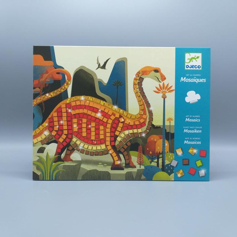 Djeco knutselpakket - Mozaiek dinosaurussen