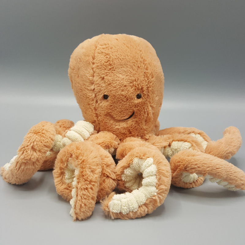 Jellycat Knuffel - Odell Octopus Small