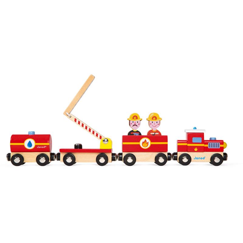 Janod- Story trein brandweer