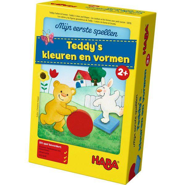 Haba - Teddy's kleuren en vormen